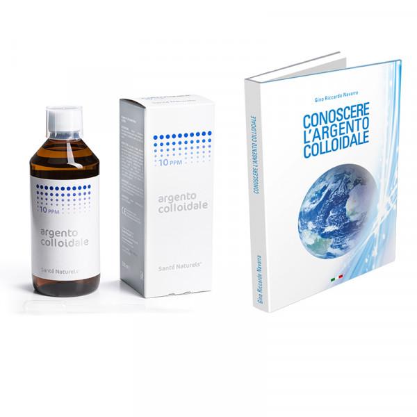 Argento 500 ml 10 ppm e Libro