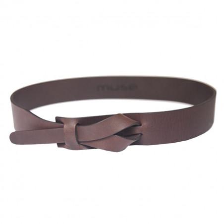 Cintura Nichel Free Marrone...