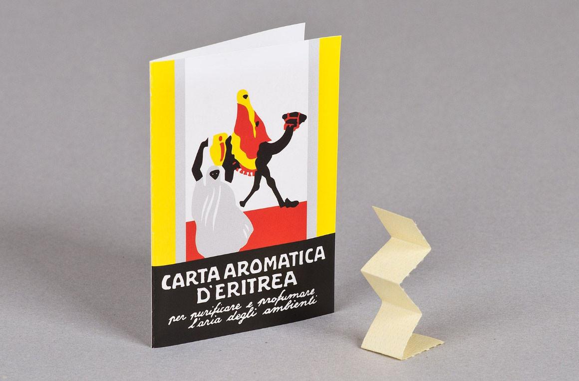 Carta aromatica d'Eritrea, il deodorante ambienti naturale